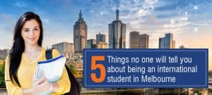 being an international student in Melbourne